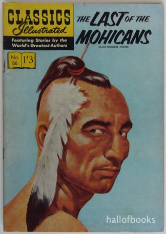 Last of the Mohicans sold by Hall of Books