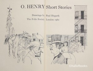 Folio Society edition of O. Henry Short Stories