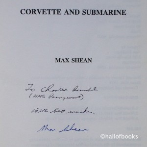 Max Shean Inscription and Signature
