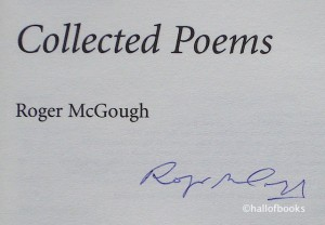Roger McGough Signature